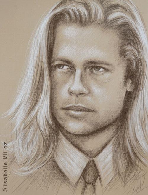 Brad Pitt par isaM